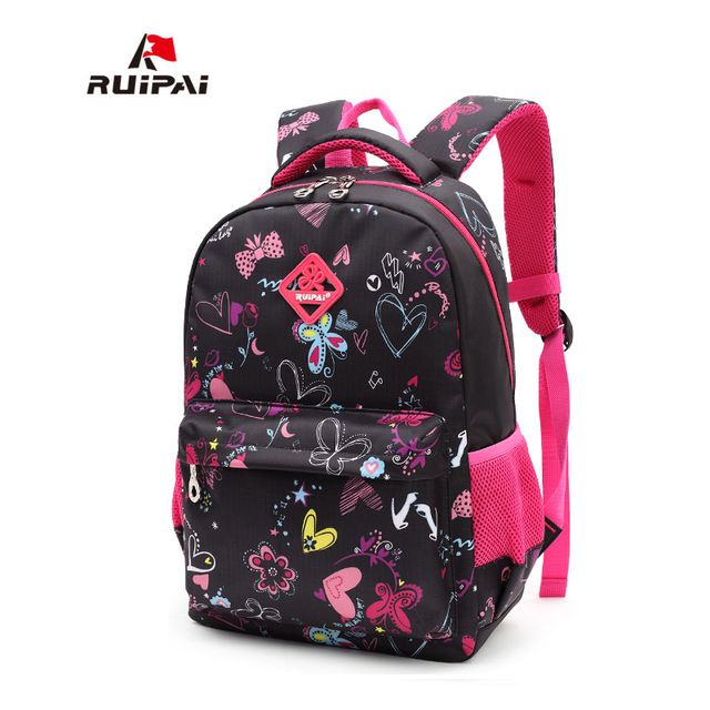 Top Offers $14.28, Buy RUIPAI Kids School Bags Children Backpacks Girls and Boys Backpack Schoolbag Mochila Bookbag Big and Small Size Kids Baby Bags