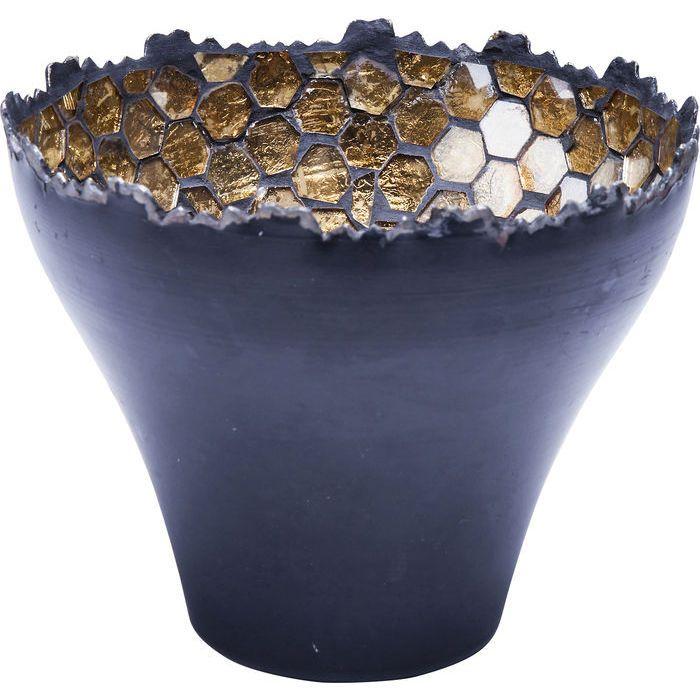 Suport Lumanari Mosaico Noir Medium - KARE Design