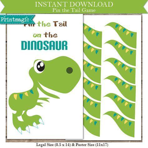 Best 25 dinosaur printables ideas on pinterest dinosaur for Pin the tail on the dinosaur template