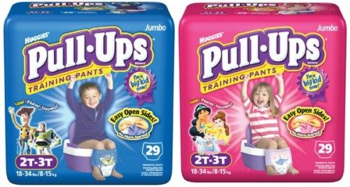 Huggies Pull Ups Coupons | As low as $3.62   Diapers for $3.49!