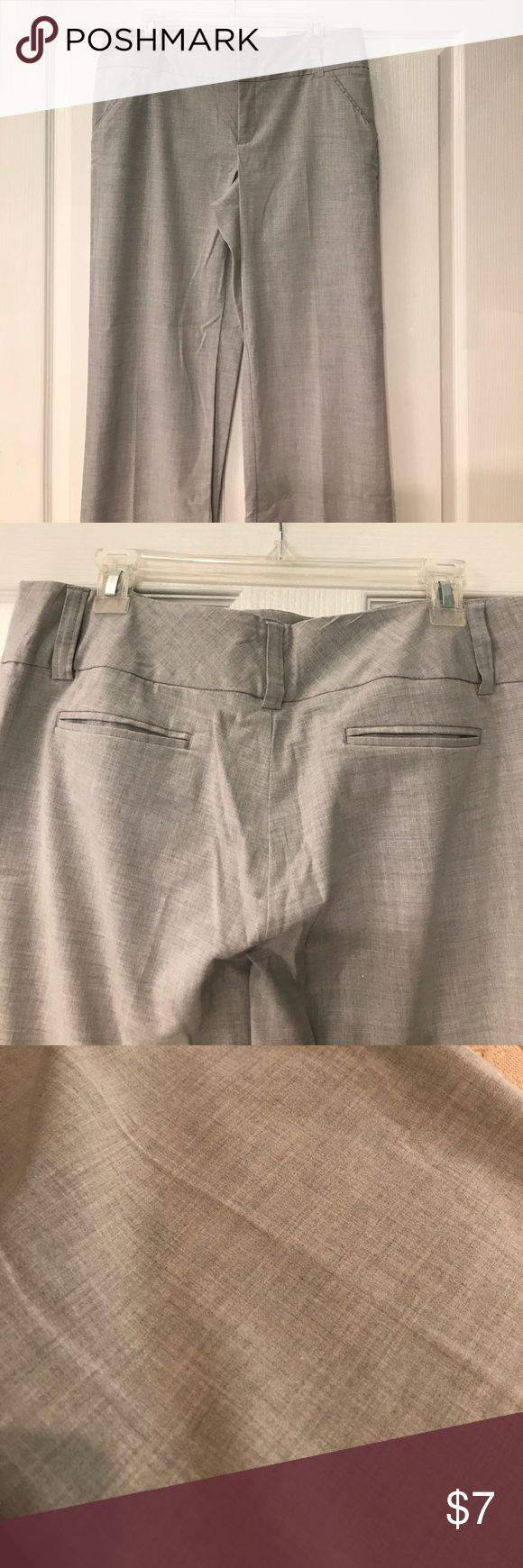 Daisy Fuentes beautiful gray trousers Excellent used condition. Size 12. Daisy Fuentes Pants Trousers