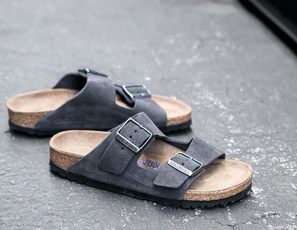 birkenstock | arizona's in velvet grey