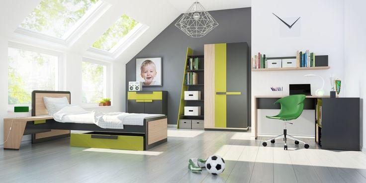 Pokój taki, że wow! #meble #furniture #kolekcja #collection  #inspiration #inspiracja #szynakameble #wow