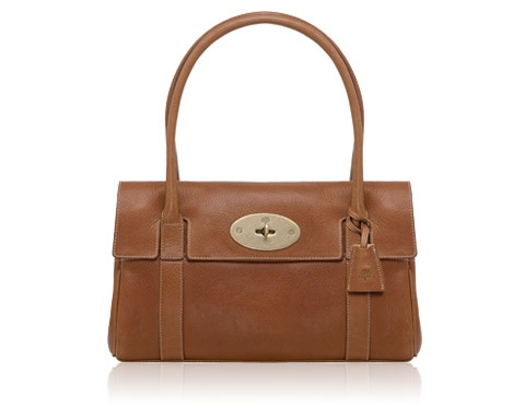 Mulberry East-West Bayswater Oak leather