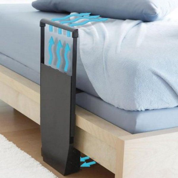 The Bed Fan -- mom: Between The Sheet, Bottom Sheet, Idea, Beds Fans, Random, Things, House, Ac Cost, Fans Deliv
