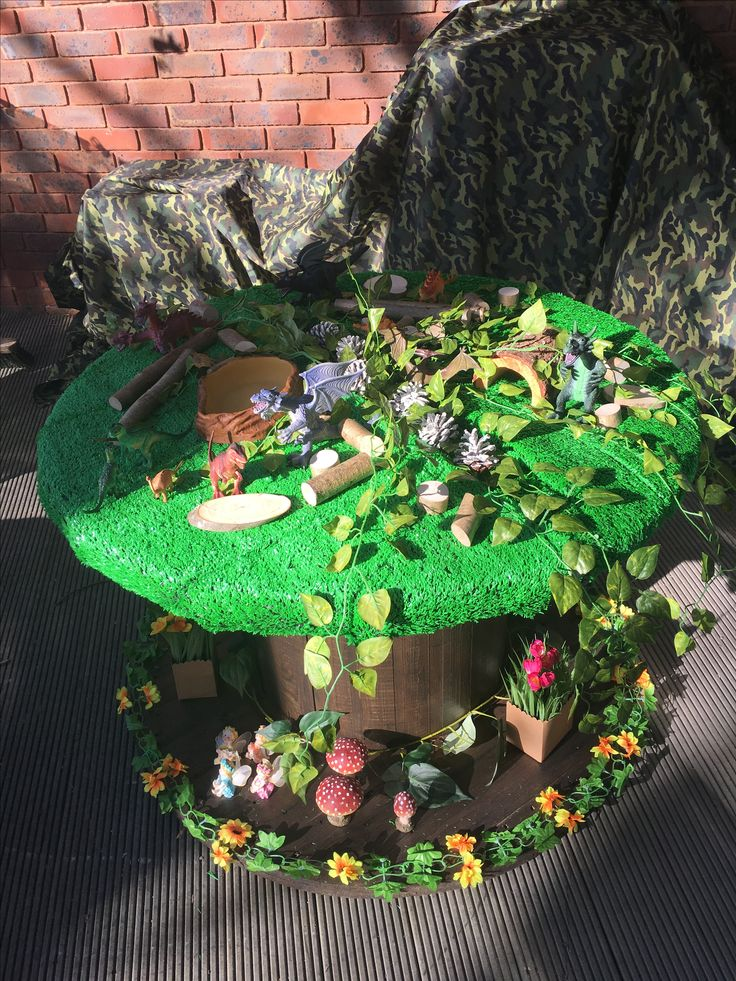 Dinosaurs and Fairy Small World Cable Reel