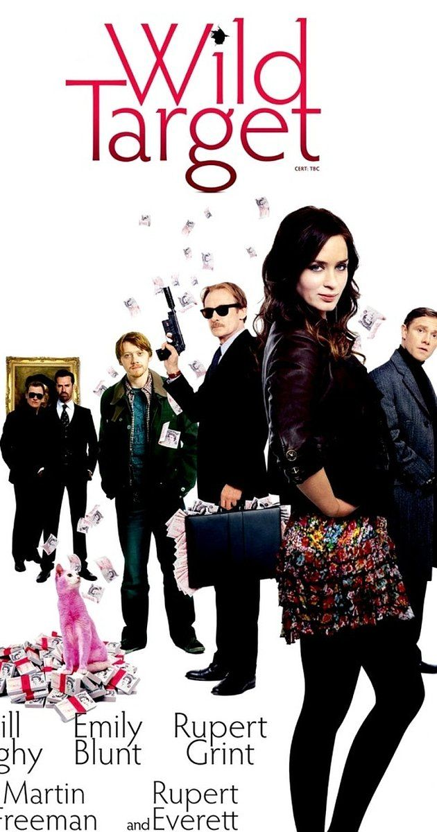 Directed by Jonathan Lynn.  With Bill Nighy, Emily Blunt, Rupert Grint, Rupert Everett. A hitman tries to retire but a beautiful thief may change his plans.