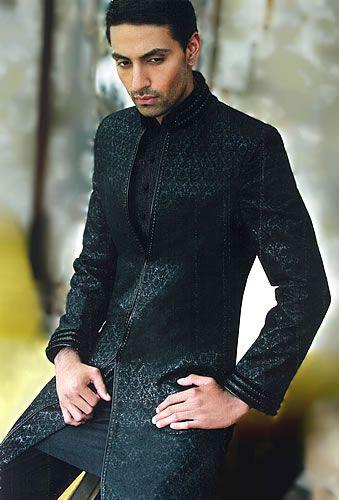 Sherwani in Black