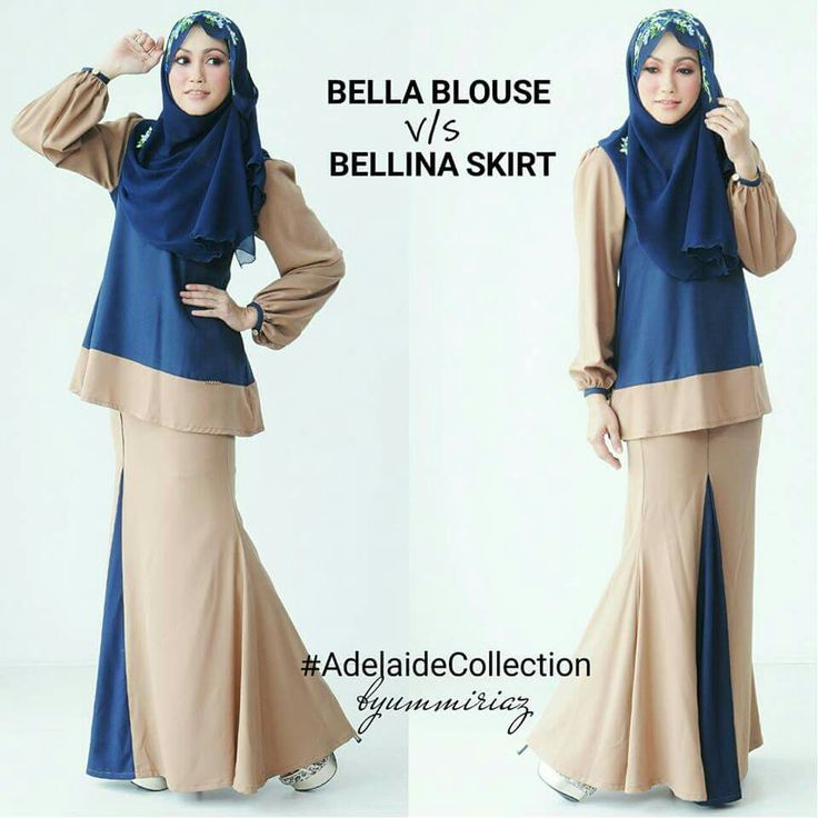 Bella blouse & Bellina skirt