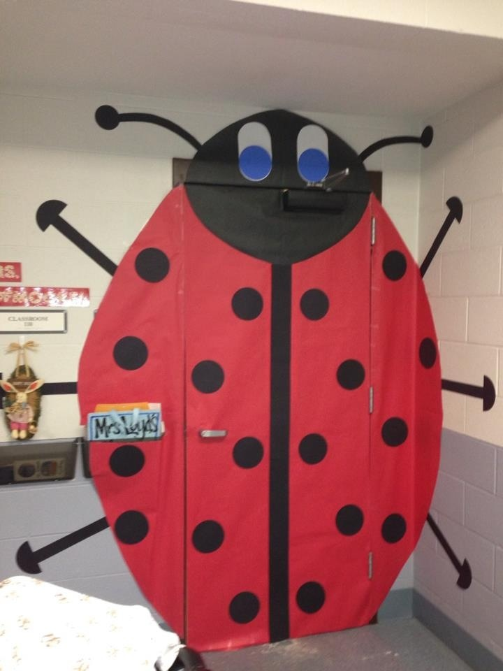 Ladybug Classroom Decoration Ideas ~ Best images about classroom doors on pinterest boom