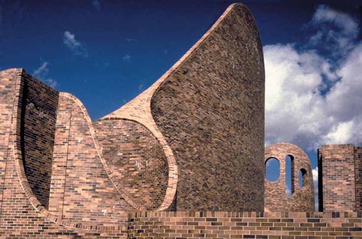 St. Mary's Church in Red Deer, Alberta (Douglas Cardinal, Architect)