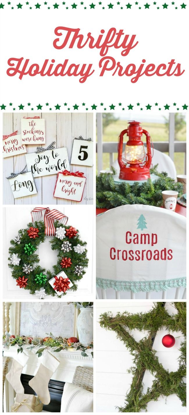 Christmas Folding Chair Covers Bedroom Chairs And Ottomans How To Make Cottage At The Crossroads Blog Thrifty Decorating Projects From Some Of Your Favorite Bloggers Christmasideas Foldingchaircovers Printables