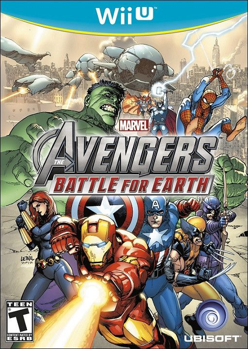 Marvel Avengers: Battle for Earth (Wii-U)