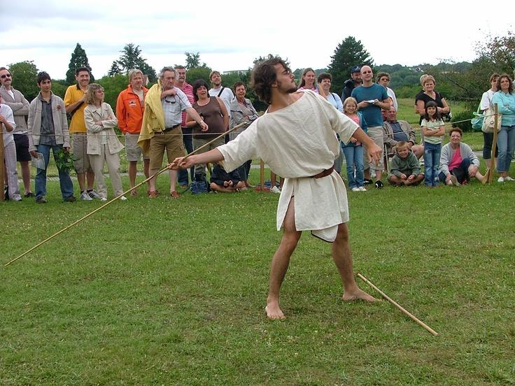 Lancer du javelot.  2007  http://www.argentomagus.fr