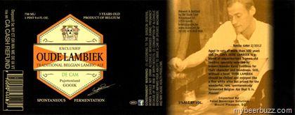 mybeerbuzz.com - Bringing Good Beers & Good People Together...: Oude Lambiek De Cam - 3-Year