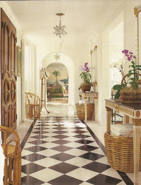 Foyer Tile Quotes : Veranda black and white tile foyer tiled pinterest