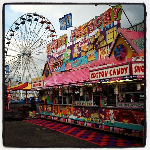 Love this picture of the Houston Rodeo and Carnival! Photo by Paula Hines...I always love getting to go to the rodeo!
