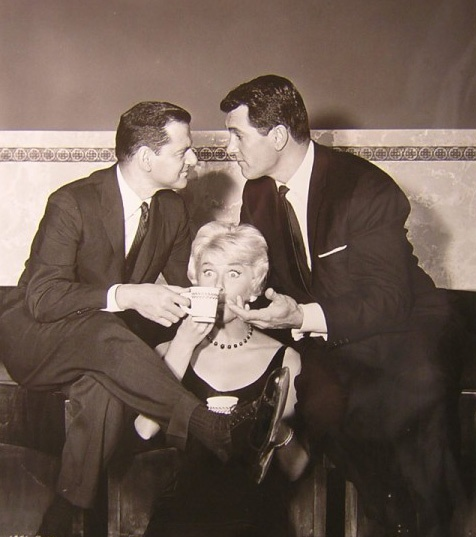 Tony Randall, Doris Day & Rock Hudson