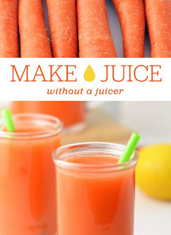 How to Make Juice Without a Juicer   Brit + Co.