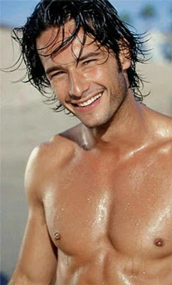 Rodrigo Santoro....gosh he's gorgeous. I saw him in 'Love Actually' and fell right into infatuation!