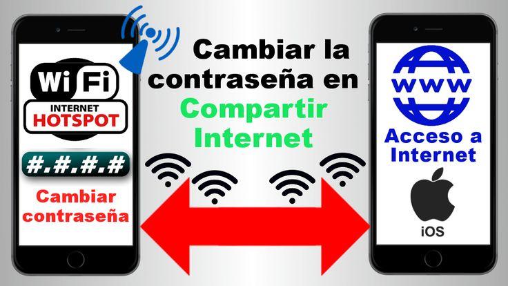 Como cambiar la contraseña de la opción Compartir Internet (hotspot) en iOS ✅, tanto en iPhone como en iPad. #Hotspot #CompartirInternet #iOS #iPhone #iPad downloadsource.es
