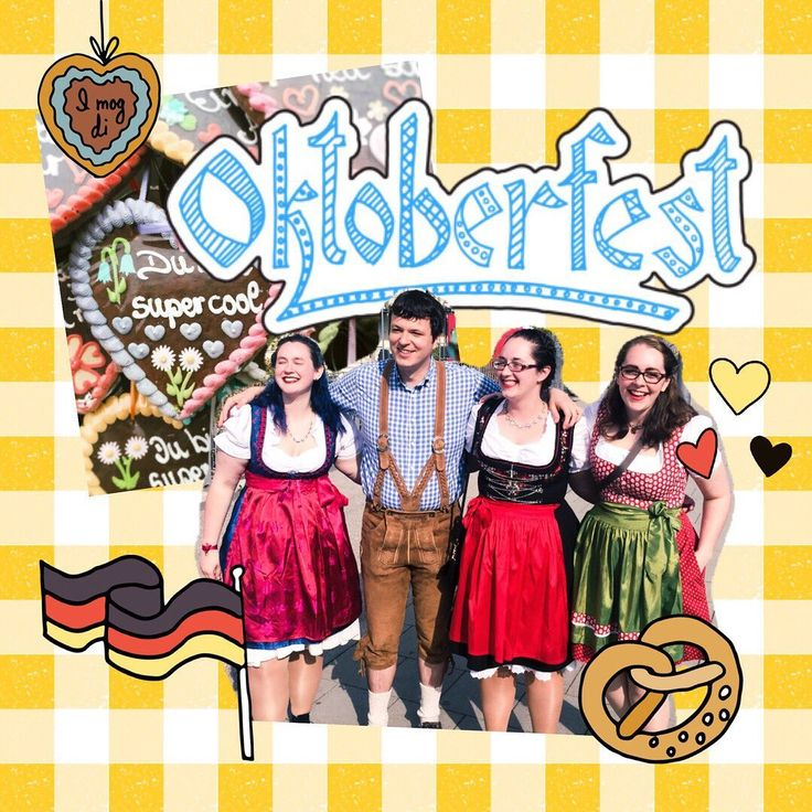 """Ich liebe dich!"" That means, ""I love you!"" in German 🍻❤️🥨 Happy Oktob…"