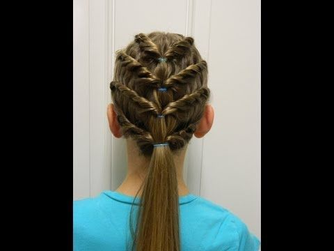 Four layered twist / Bonita Hair Do - YouTube