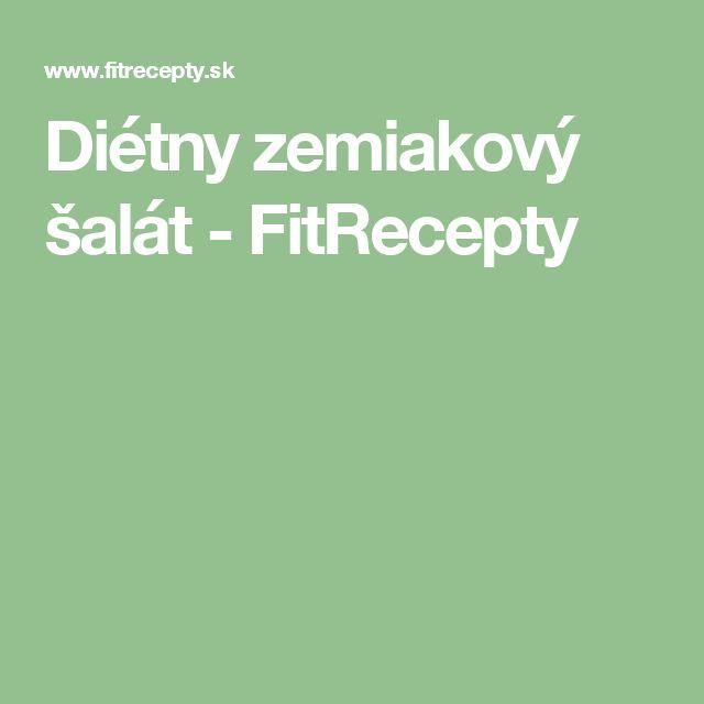 Diétny zemiakový šalát - FitRecepty