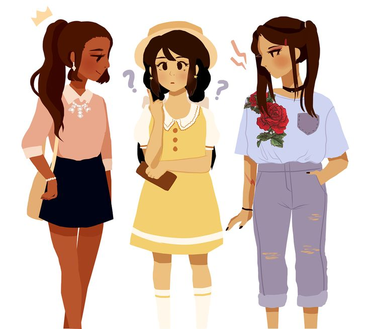 princess, lia, and mei in outfits inspired by ones i saw online! which style is your favorite?? for me it'd have to be mei ❤️ #sentencesquad #kmoc_princess #kmoc_lia #kmoc_mei #oc #ocs #digitalart #originalart #outfitdesign #outfitinspiration