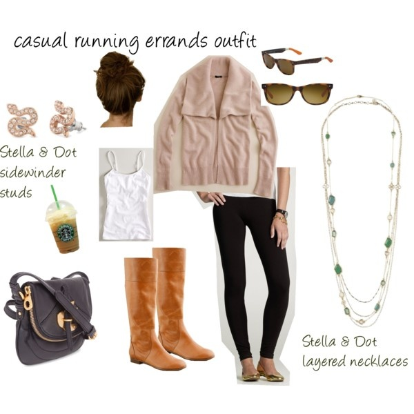 perfect casual running errands outfit !