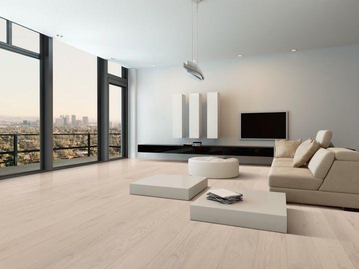 Woca Prefinished Engineered Oak Floor Colour-Blanc