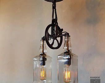 El suroeste lámpara de pared de polea