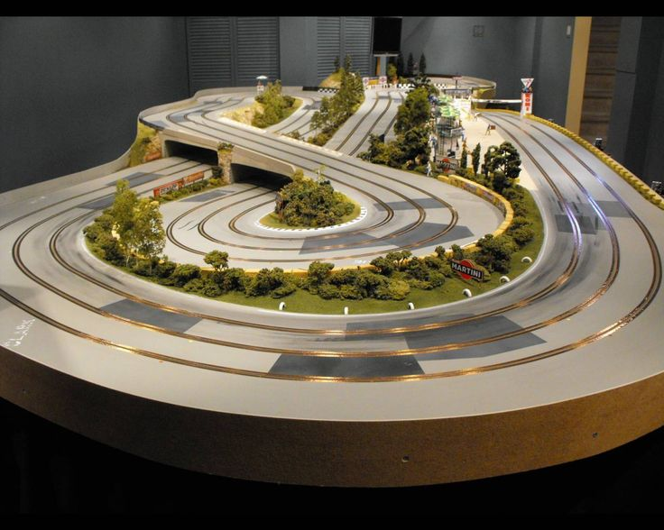 custom routed slot car track Google Search Slot Car