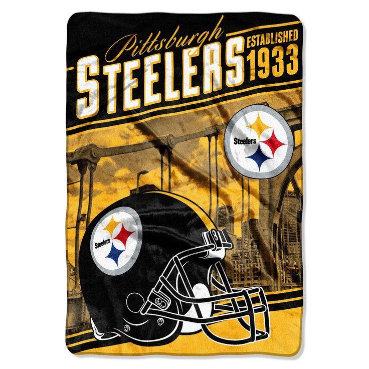 NFL Pittsburgh Steelers Blanket