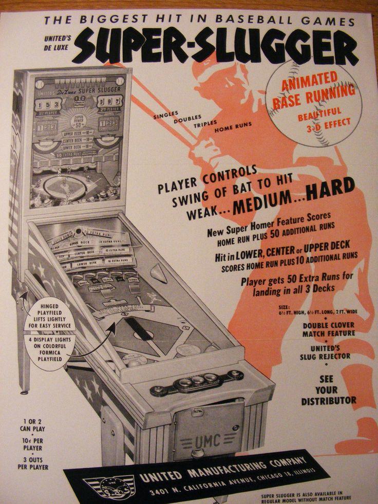 126 best Pinball WoodRails images on Pinterest Auction, Basement - baseball flyer