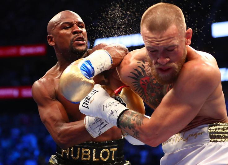 McGregor, the U.F.C. champ, battled against Mayweather early, but tired in the late rounds and couldn't withstand the boxer's late surge in the 10th.
