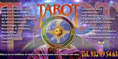 TAROT - VIDENTES - HOROSCOPO - RUNAS: Necesito una buena vidente o tarotista en madrid