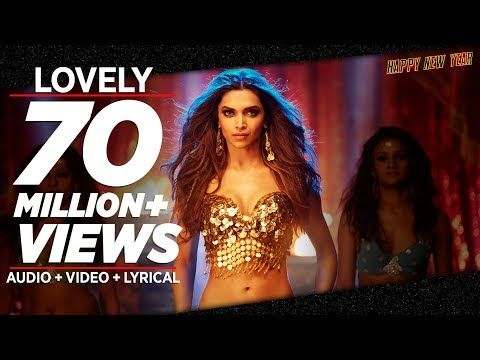 OFFICIAL: 'Lovely' FULL VIDEO Song | Shah Rukh Khan | Deepika Padukone | Kanika Kapoor - YouTube