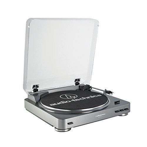 Audio Technica AT-LP60 Fully Automatic Stereo Turntable System Silver