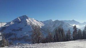Gifferhorn and Wasserngrat from Hornberg, Gstaad, Berner Oberland