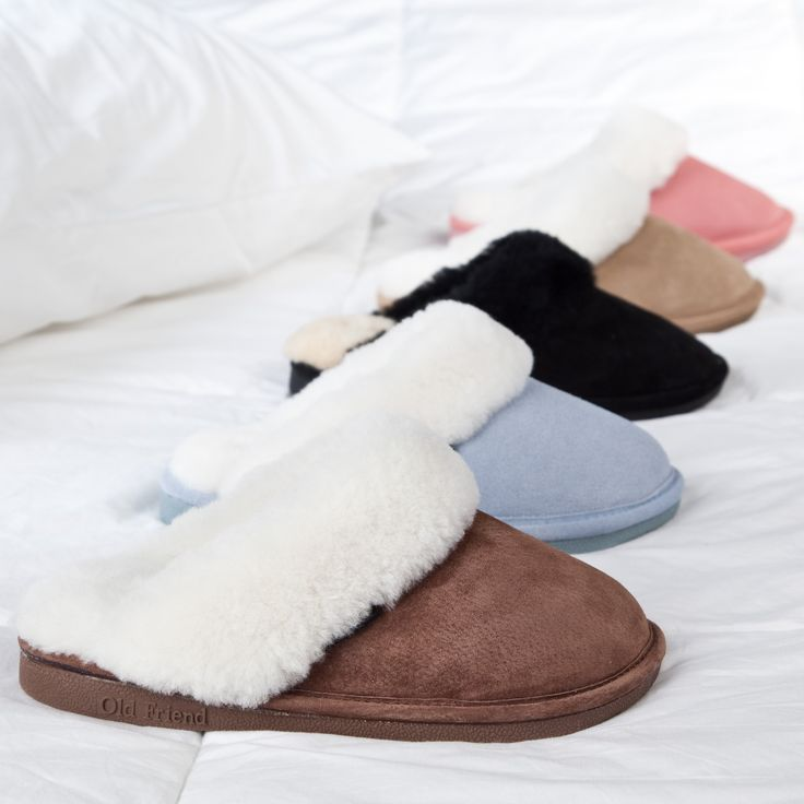 Christmas wish list...Scuff Slippers....would love to buy a pair in every color and wear a different color everyday !