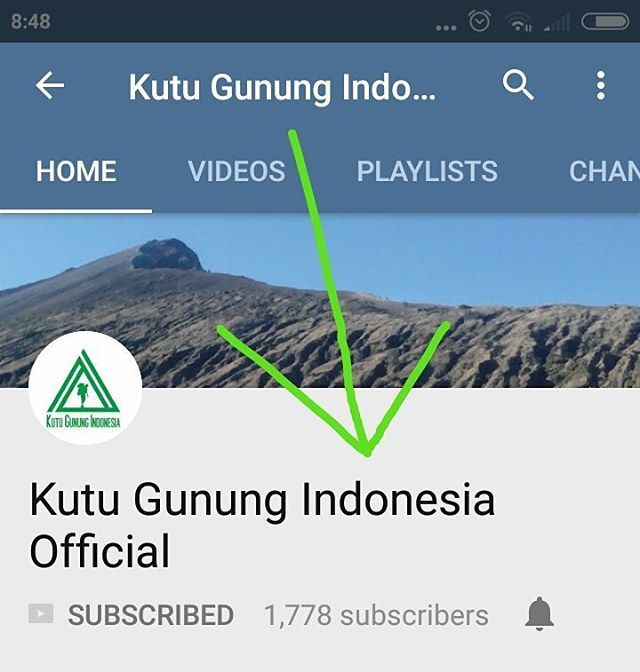 Buka Aplikasi Youtube Mu Lalu Ketik Kutu Gunung Indonesia Official Pada Pencarian Kalau Sudah Ketemu Segera Di Klik Dan Klik Youtube Indonesia Perjalanan
