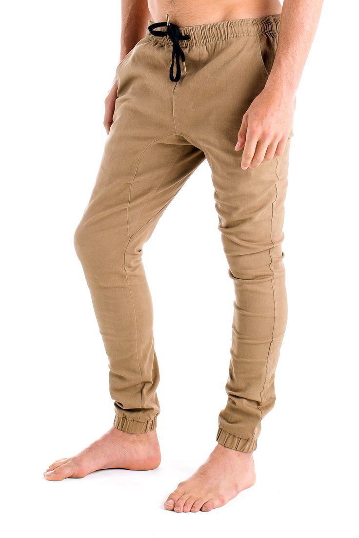Mens Beach Pants Tan from Monsta Surf
