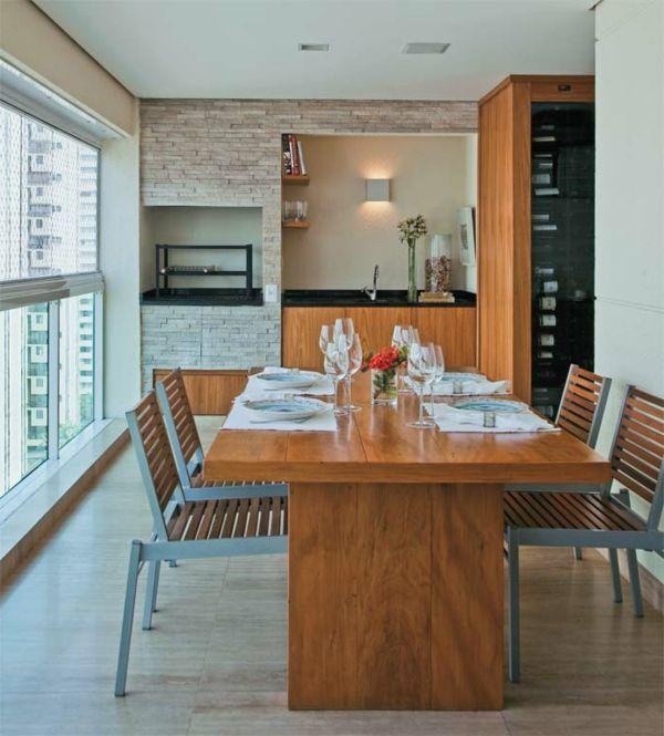 Coole einrichtungsideen veranda esstisch st hle for Esstisch yellow