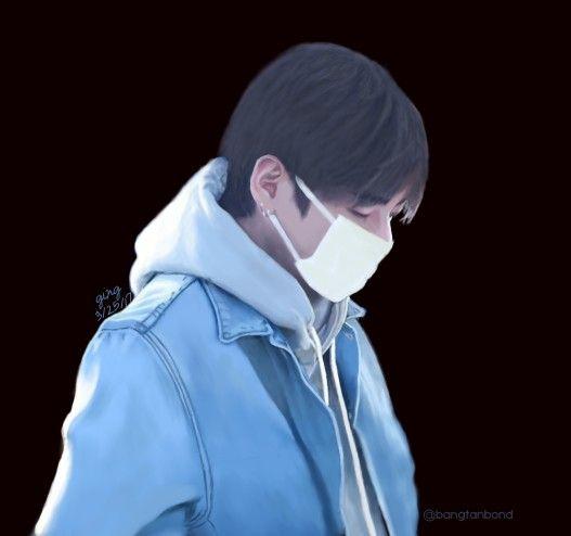 Kim Taehyung Digital Painting