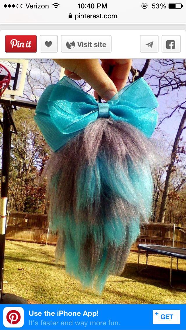 Yarn tail mini
