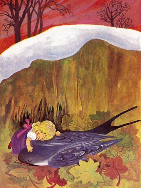 'Thumbelina' By Felicitas Kuhn [Pestalozzi Verlag]