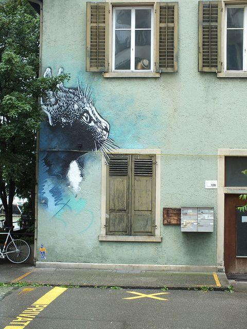 C215 - Zürich (CH) by C215, via Flickr