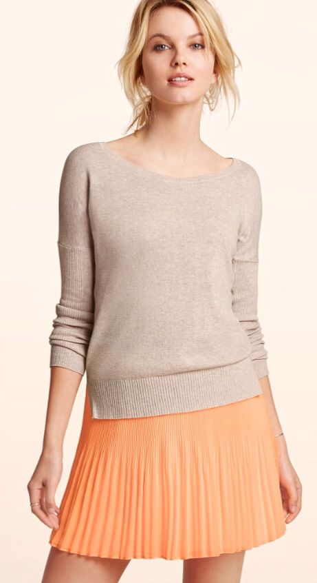 #Orange & #Nude/#Beige —amazing together as an #outfit, or as a #lip/#shadow combo