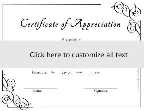 1000 ideas about Online Certificate Maker – Online Certificate Template